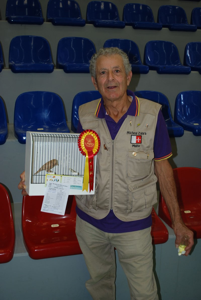 MCBA 2015 best greenfinch phaeo topaz hen